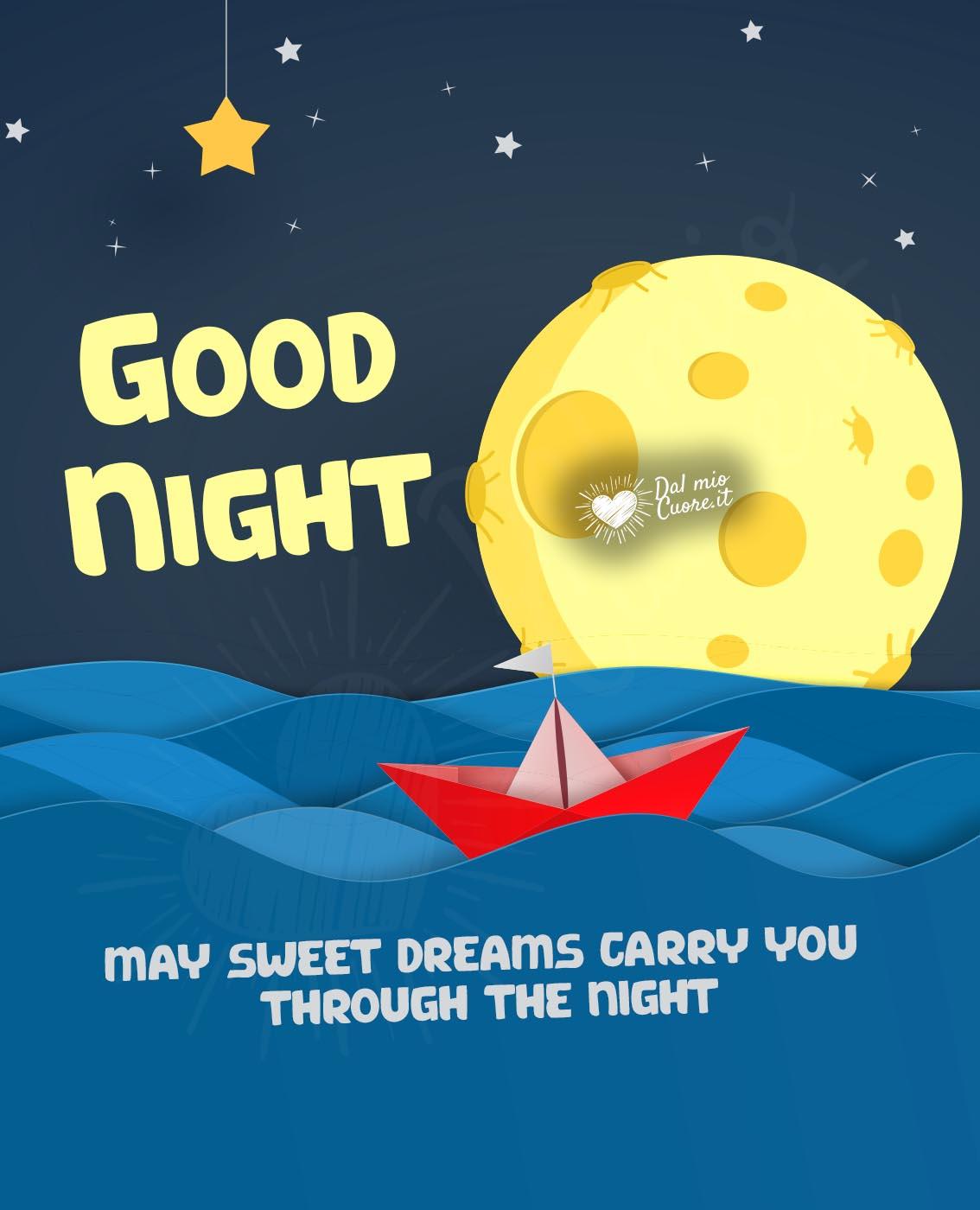 Dreams good bilder kostenlos night sweet Gute Nacht
